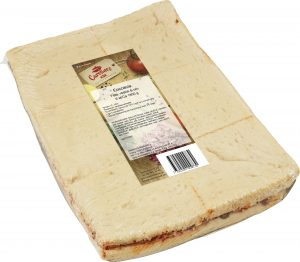 Item: 07331500009730 Item name: Foccacia Feta Rödlök Oliv Brand name: Carolines kök Supplier: 7331500000003 - Carolines Kök AB Article Size: 1800g Target Market: 752   (Sverige) Image File Format: TIF Resolution (original file): 300 dpi Width (original file): 4140 pixels Height (original file): 3613 pixels Image File Size (original file): 11408012 bytes Color Mode: RGB ( 16711 , 65 , 0 ) Image Quality Assurance Date: 2015-10-15 Image Approval Date: 2015-10-27 Image Publication Date: 2015-10-27 Image Source: 7331500000003 - Carolines Kök AB File Nature/type: En fotograferad produkt (GTIN)( C ) Facing Indicator: Front( 1 ) Angle Identifier: Vänster( L ) Packaging: In( 1 ) #
