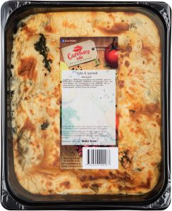 Feta & spenat lasagne 2,5 kg_high