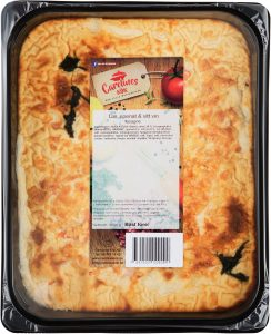 Lax, spenat & vitt vin lasagne 2,5 kg_high