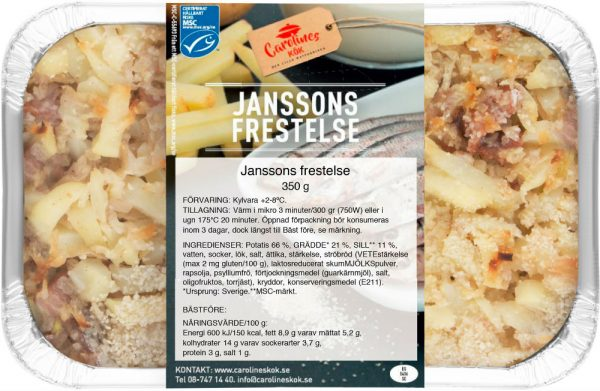 Janssons Frestelse 350 g_front_webb